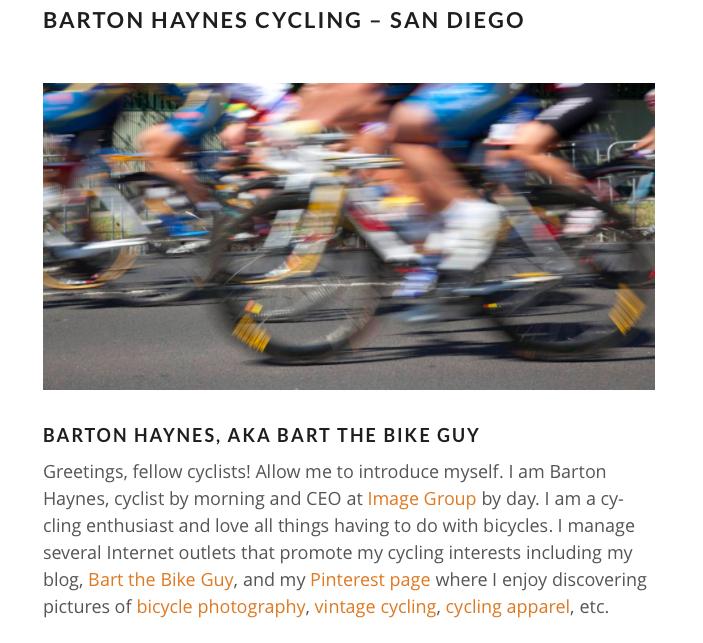 Barton Haynes San Diego Website
