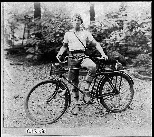 Barton Haynes Cycling Photograph