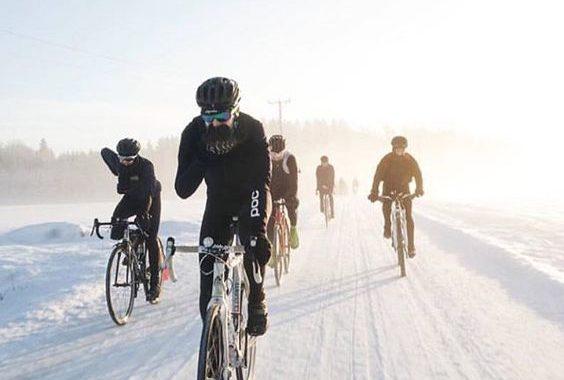 Barton Haynes Snow Cycling