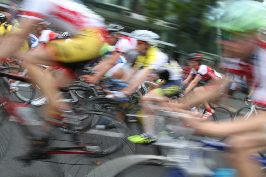 Barton Haynes Cyclist Race